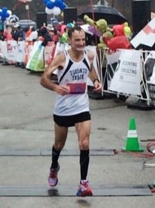 Toronto Marathon - Walter