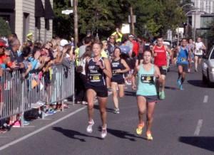 CMA 5K - Annie finish