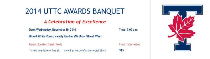 2014 track banquet